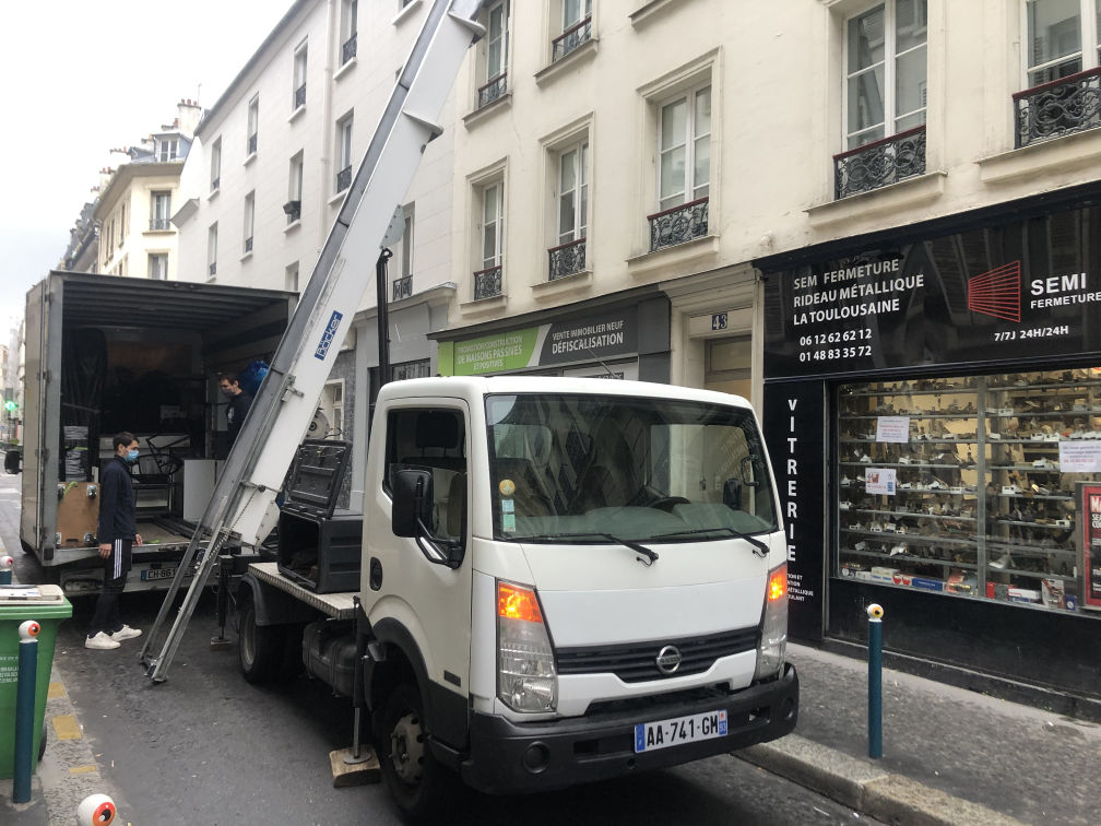 Demenager Ille De France Monte Meuble